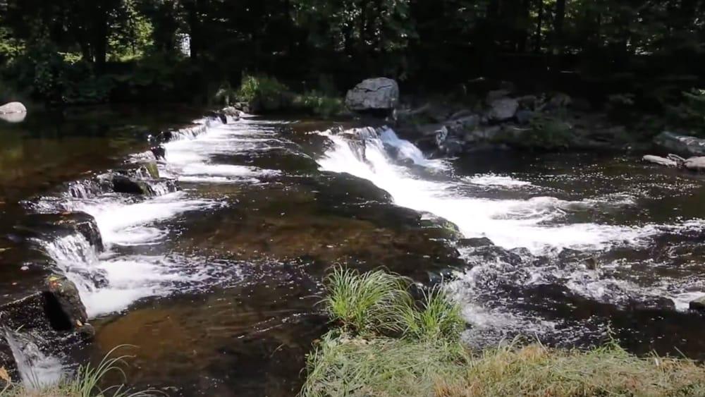 Brodhead Creek Falls video
